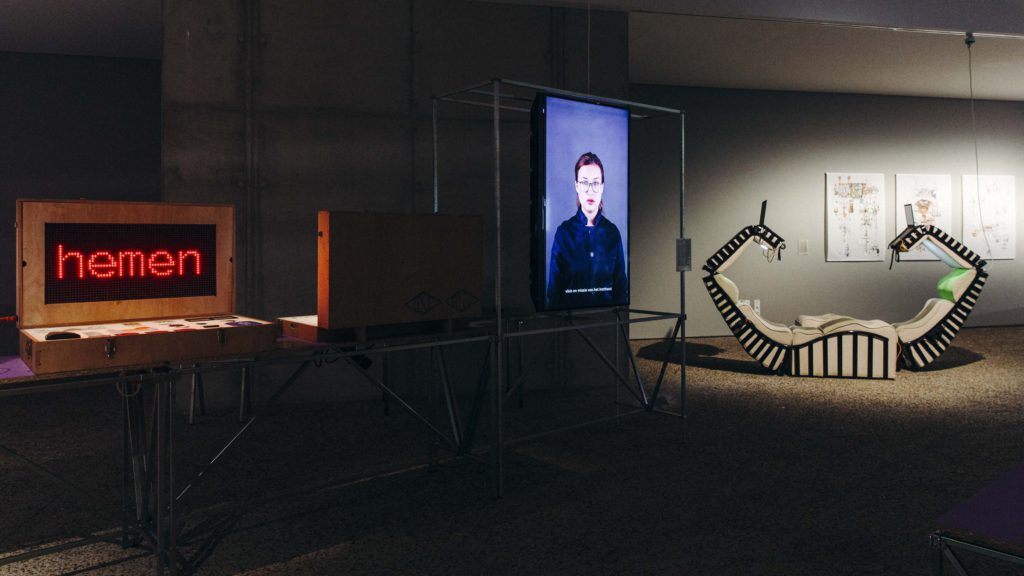 Installation view, A School of Schools, C-Mine Genk, photo Selma Gurbuz